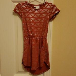 Lularoe mae dress with pockets 2T